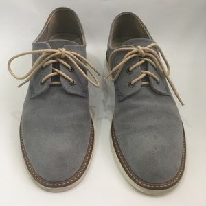 Lacoste Sherbrooke 8 SRM Suede Lace Up Mens USA 9